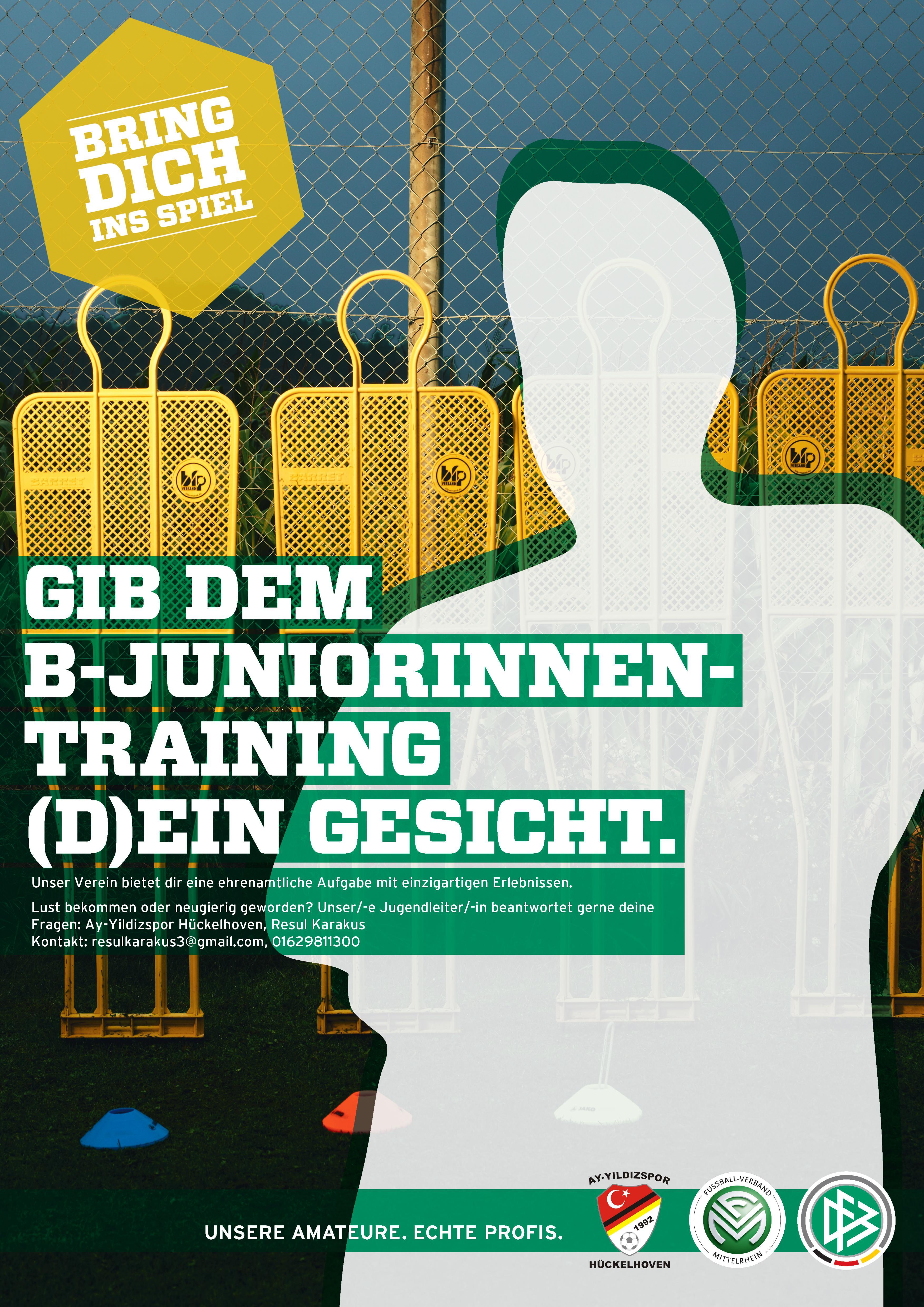 Trainer/Betreuer gesucht für B-Juniorinnen