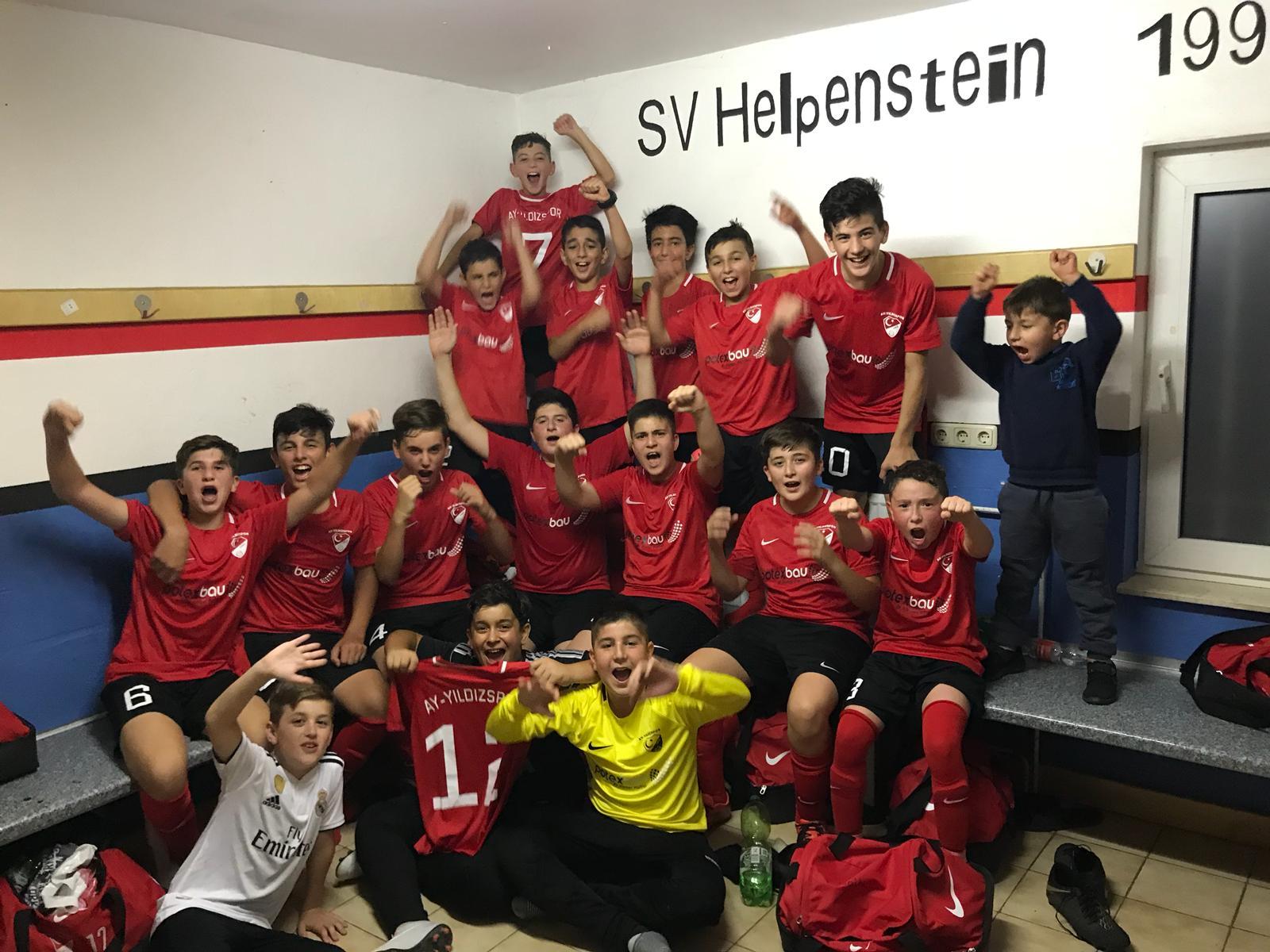 SG Helpenstein-Wegberg vs. Ay-Yildizspor Hückelhoven Kreispokal 1. Runde