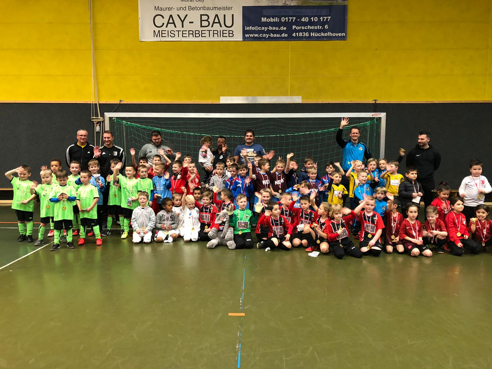 Cay Bau Cup Bambinis ohne Verlierer