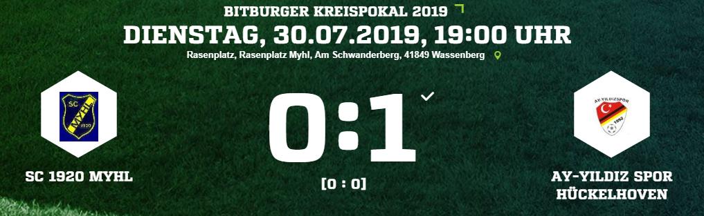 Last Minute Sieg im Pokal