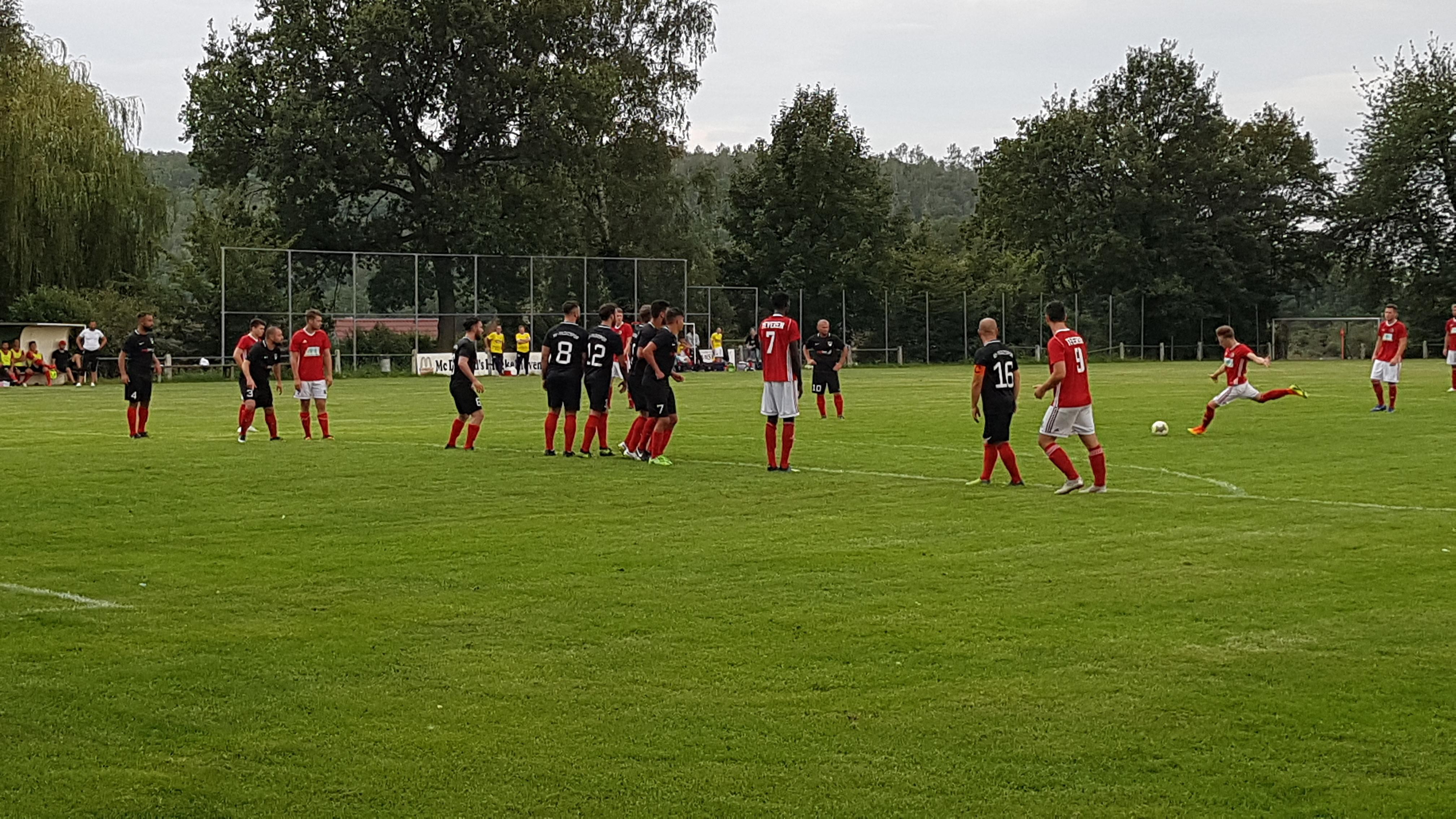 Germania Teveren schlägt die Erste mit vier Toren