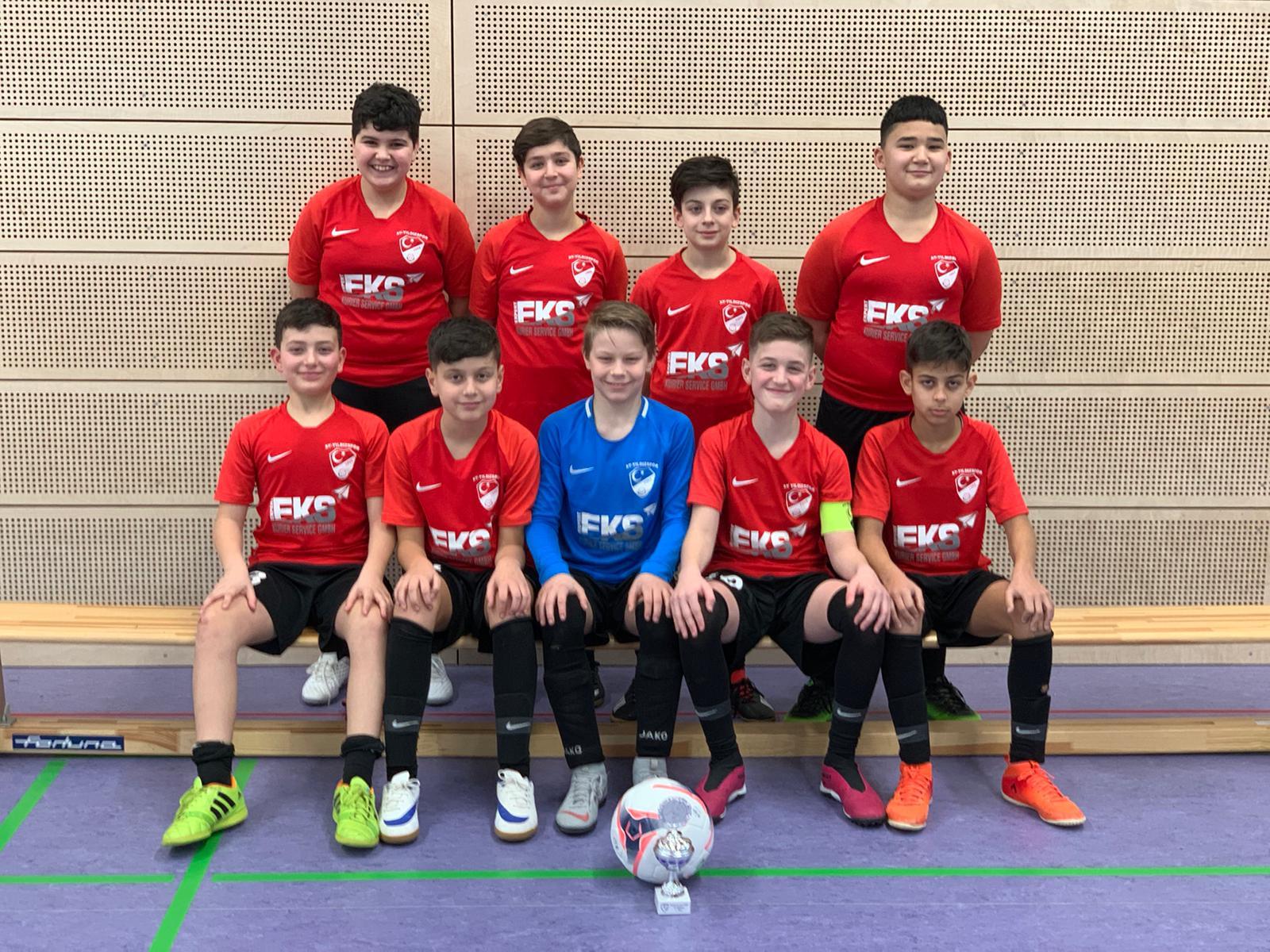 D2-Junioren erreichen erneut den 1. Platz