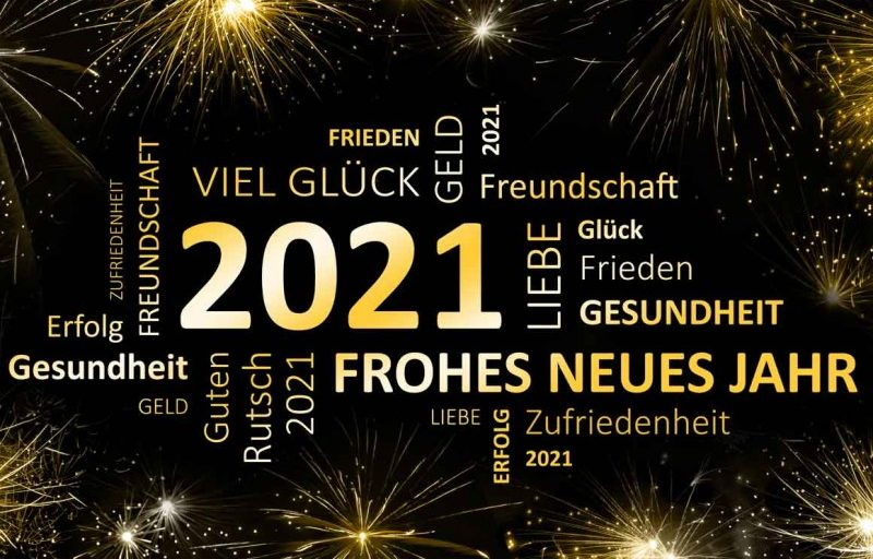 Frohes Neues 2021