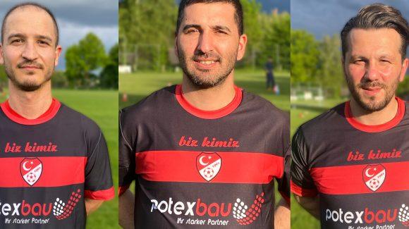Salih Günes, Sinan Igdemir und Emrah Bayrak als routinierte Stützen